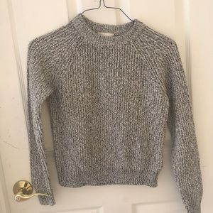 Salt and pepper sweater!